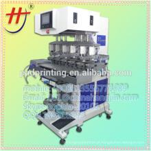 Hot venda especial Multi-color pad impressora máquina para impressão capacete de segurança