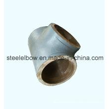 Tee recta de acero de carbón de ASTM A234 Wpb