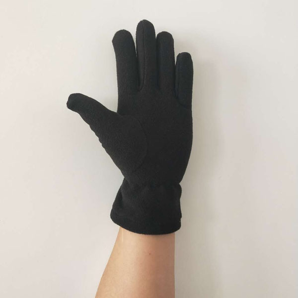 Anti Slip Warm Sports Polar Fleece Glove Palm