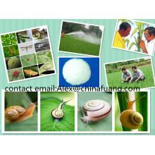 Produits chimiques agricoles insecticide Pesiticide 99% Tc Molluscicide Killer Métaldéhyde