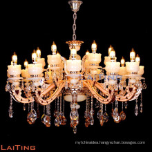2016 modern 18 arms large crystal candle chandelier 88647