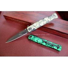Cuchillo de aluminio de la manija que acampa (SE-0533)