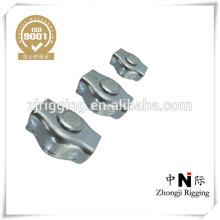 Sujetadores de acero inoxidable simplex clips de cable de acero