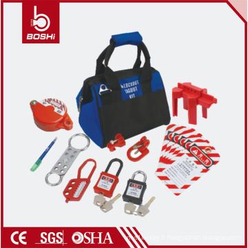 Ensemble de verrouillage de groupe de sécurité électrique BD-Z11, SAC DE LOCKOUT