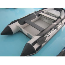 3.8m Family Use PVC Fishing Inflatable Rowing Boat