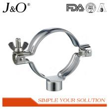 Sanitary Stainless Steel Welded Pipe Holder