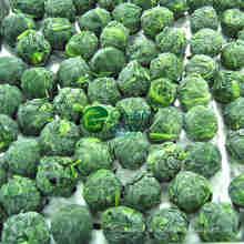 IQF gefroren Spinat-Bällchen mit FDA-Standard