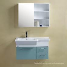 Gabinete de banheiro de PVC quente com certificado CE