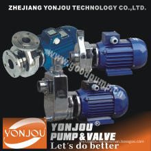 Acid Centrifugal Pump with Self-Priming and Stainless Steel Material