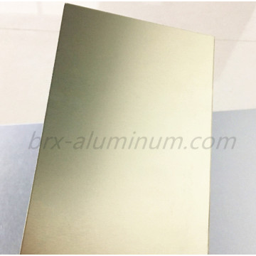 Anodized decorative aluminum sheet