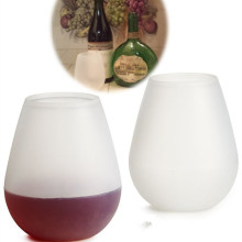 Eco-Friendly Fashion Silicone Wine Cup Drinking Cup