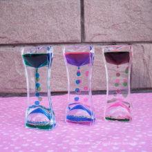Acrílico Liquid Hourglass líquido do movimento (MQ-ACH01)