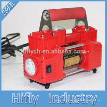 HF-5065B DC12V Car Air Compressor Portable Air Compressor Plastic Air Compressor (CE Certificate)