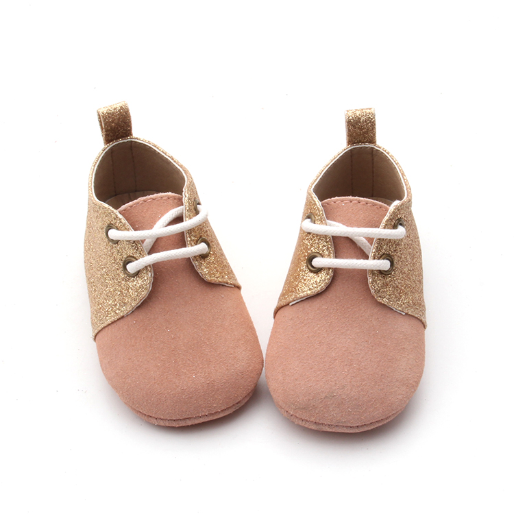 Baby Oxford shoes soft leather Toddler shoes