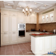 2017 MDF White PVC Kitchen Cabinets