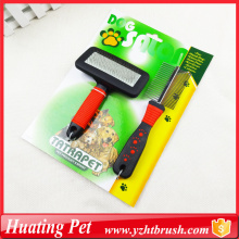Best Price for for China Pet Grooming Set,Pet Hair Grooming,Custom Hair Combs Supplier puppy kitten grooming set export to Qatar Exporter