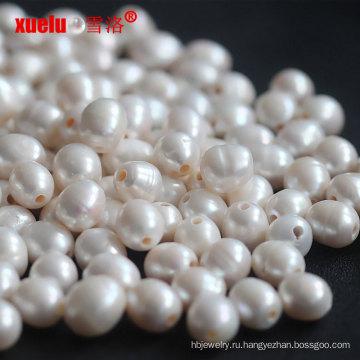 12-15мм риса пресной воды Loose Pearl Beads Big Hole оптом