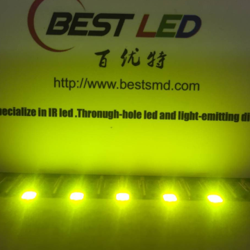 2835 Yeşil SMD Limon 565nm 570nm LED 2.0V