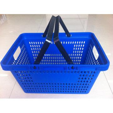 Customized Supermarket Shopping Basket with Handles