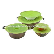 High quality kitchenware flexible silicone lid