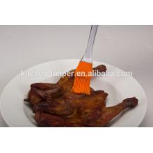 Продовольственная цена Продовольственная класса жаропрочных антипригарным силиконовые Basting & Pastry Brush