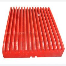 Bergbau Ersatzteile High Mangan Stahl Backen Brecher Platten