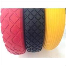 En hévéa massif roue (4.80/4.00-8) pneu de mousse PU