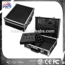 professional aluminum cosmetic makeup case/empty makeup case/makeup vanity case