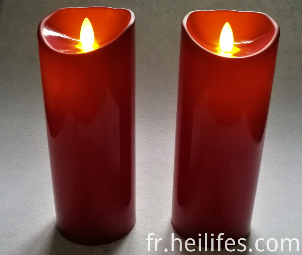 Customized Festival of Red Candle Lights