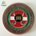 Custom Souvenir Logo Antique Bronze Metal Commemorate Coin for Military Police