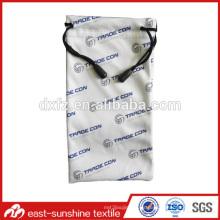 La bolsa de lentes personalizada Eyeglass; Bolsa promocional; Bolsa de microfibra