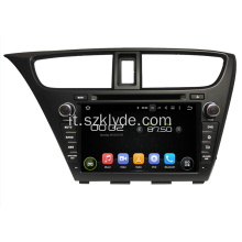Honda Car DVD GPS Player per Hatchback Civico