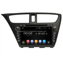 Jogador de GPS do carro de Honda DVD para o hatchback cívico