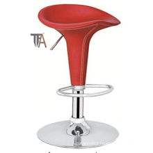 Red Color PVC Material Bar Stool