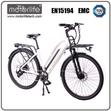 Unisex comfortable city e bike, 36 V 250 W bicycle bike, 28 speed bicycle electric