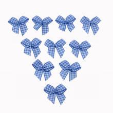 Blue Chex Cinta Arco