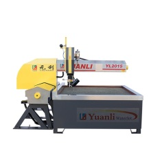 Abrasive CNC small water jet cutting machine
