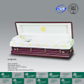 Caixão de sofá cheio de LUXES para Funeral