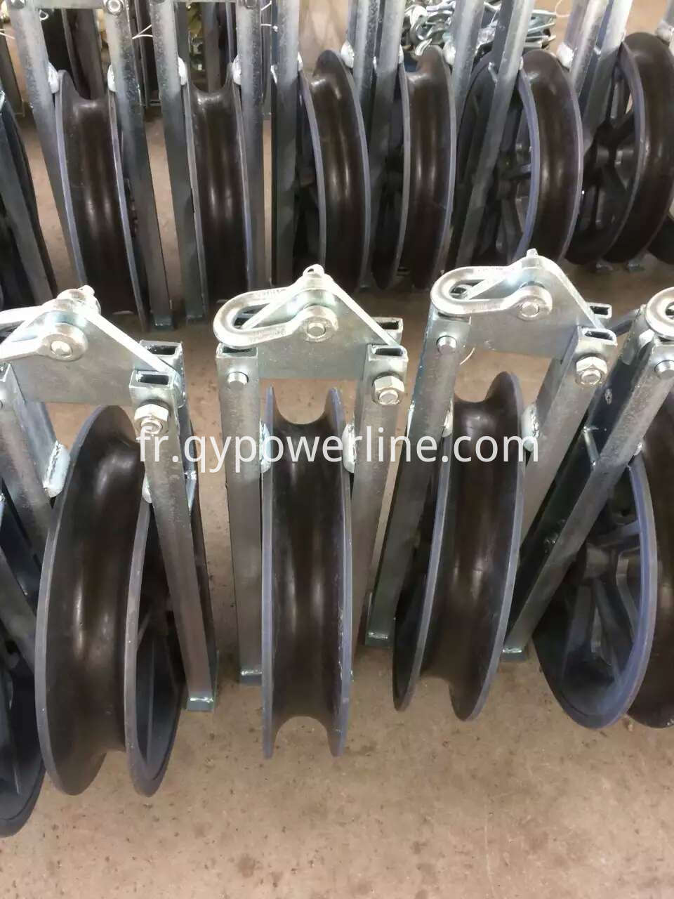High speed Turning Stringing Cable pulley