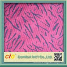 2014 dernière impression conçoit des tissus de voiture de polyester pour le siège