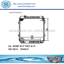 Auto Radiator For TOYOTA 84-87 4RUNNER/86-95 PICKUP 2.4L AT OEM:1640035100 1640035290 1640035370 1640035380