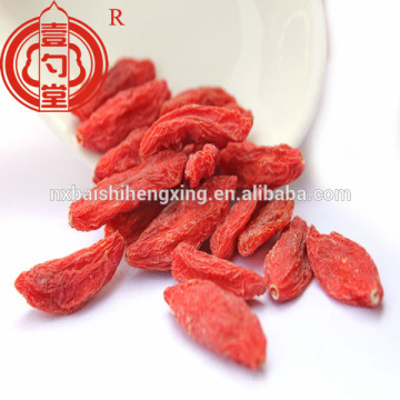 China certified organic dry goji berry goji fruit with high quality