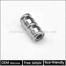 BX110 Vente en gros SS bijouterie trouvaille Fournisseur de bijoux fournisseur fermoir magnétique coupe-corps pour bracelet trou 5MM