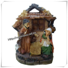 Religious Resin Statue Nativity Set, Factory Statues (IO-ca083)