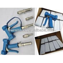 Pistola de água de pulverização de latão / aço inoxidável