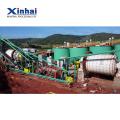 máquina de usina de processamento de minério de cobre de mineração vendida para todo o mundo