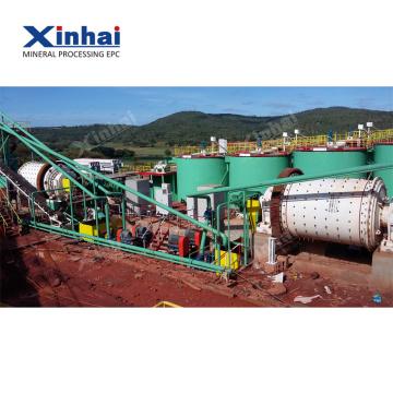 Équipement alluvial d'extraction de l'or 10TPH
