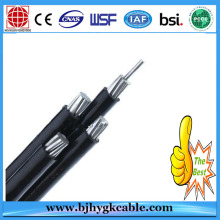 Aerial bundled cable ABC 1kV 11kV 33kV aluminium PVC/XLPE/PE insulated power cables
