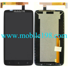 pour HTC One X + S728e Ecran LCD avec écran tactile