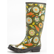 Fantasy Printing Women's Rubber Rain Boots